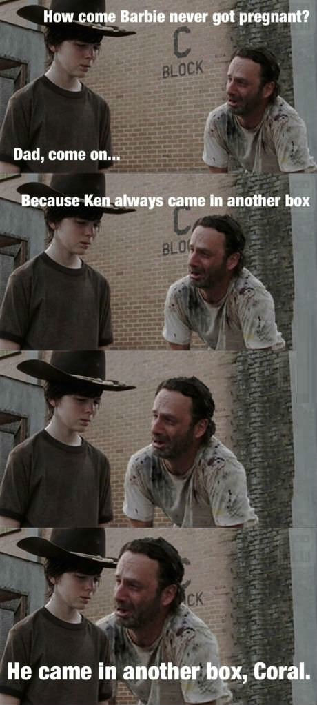 Rick Grimes Dad Jokes