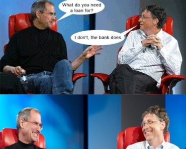 Bill Gates And Steve Jobs Meme