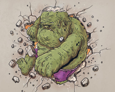 hulk at old age