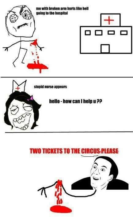 two tickets to the circus please