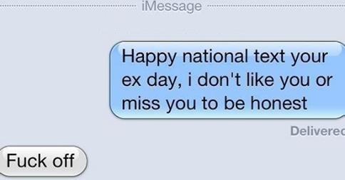 best ex girlfriend texts