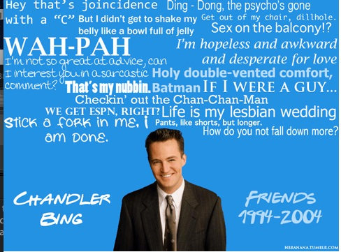 Best Chandler One-Liners of All Time