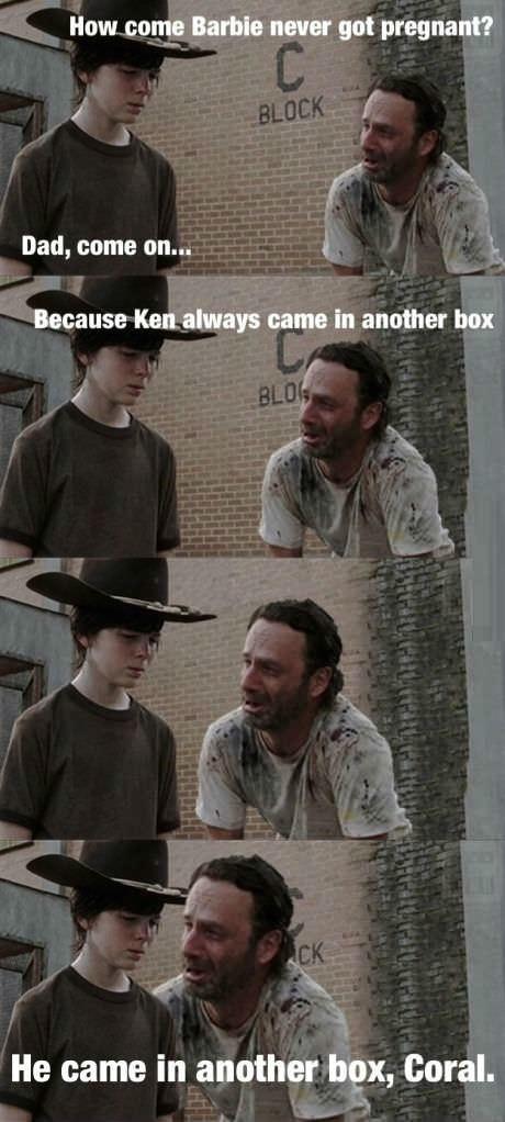 Rick Grimes Dad Jokes