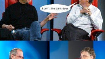 Bill Gates And Steve Jobs Meme